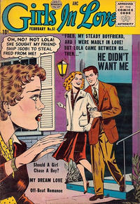 Cover Thumbnail for Girls in Love (Quality Comics, 1955 series) #51