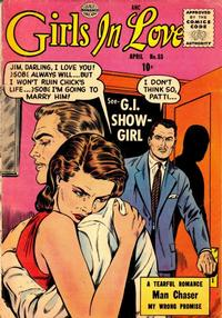 Cover Thumbnail for Girls in Love (Quality Comics, 1955 series) #53
