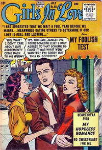 Cover Thumbnail for Girls in Love (Quality Comics, 1955 series) #55