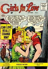 Cover Thumbnail for Girls in Love (Quality Comics, 1955 series) #57