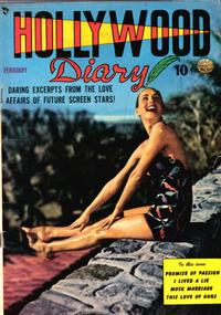 Cover Thumbnail for Hollywood Diary (Quality Comics, 1949 series) #2