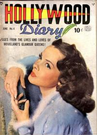 Cover for Hollywood Diary (Quality Comics, 1949 series) #4