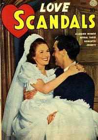 Cover Thumbnail for Love Scandals (Quality Comics, 1950 series) #2