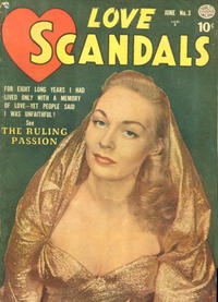 Cover Thumbnail for Love Scandals (Quality Comics, 1950 series) #3