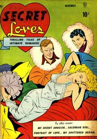 Cover Thumbnail for Secret Loves (Quality Comics, 1949 series) #1