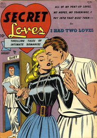 Cover Thumbnail for Secret Loves (Quality Comics, 1949 series) #2