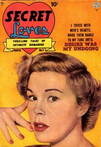 Cover Thumbnail for Secret Loves (Quality Comics, 1949 series) #3