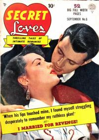 Cover Thumbnail for Secret Loves (Quality Comics, 1949 series) #6