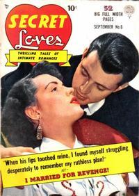 Cover Thumbnail for Secret Loves (Quality Comics, 1949 series) #6