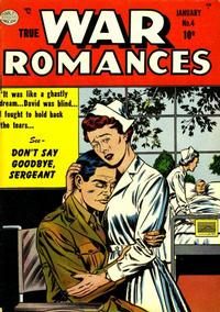 Cover Thumbnail for True War Romances (Quality Comics, 1952 series) #4