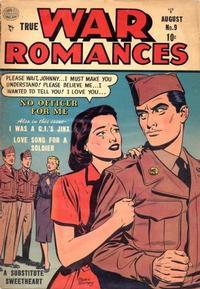 Cover Thumbnail for True War Romances (Quality Comics, 1952 series) #9