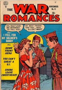 Cover Thumbnail for True War Romances (Quality Comics, 1952 series) #11