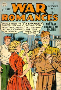 Cover Thumbnail for True War Romances (Quality Comics, 1952 series) #12