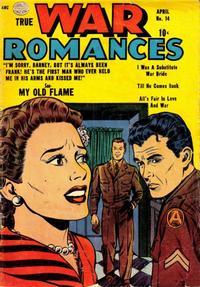 Cover Thumbnail for True War Romances (Quality Comics, 1952 series) #14
