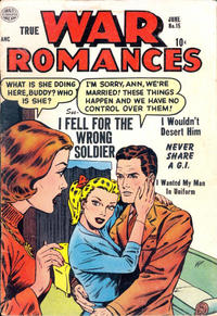 Cover Thumbnail for True War Romances (Quality Comics, 1952 series) #15