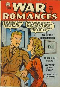 Cover Thumbnail for True War Romances (Quality Comics, 1952 series) #20