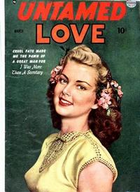 Cover Thumbnail for Untamed Love (Quality Comics, 1950 series) #2