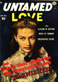 Cover Thumbnail for Untamed Love (Quality Comics, 1950 series) #4