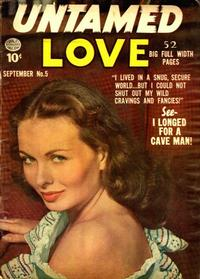 Cover Thumbnail for Untamed Love (Quality Comics, 1950 series) #5