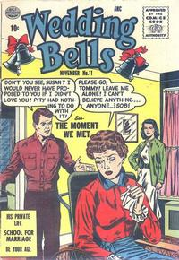 Cover Thumbnail for Wedding Bells (Quality Comics, 1954 series) #11
