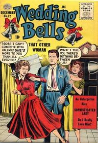 Cover Thumbnail for Wedding Bells (Quality Comics, 1954 series) #12
