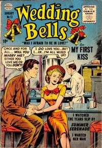 Cover Thumbnail for Wedding Bells (Quality Comics, 1954 series) #13