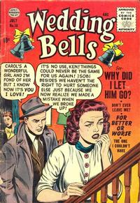 Cover Thumbnail for Wedding Bells (Quality Comics, 1954 series) #18