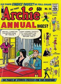 Cover Thumbnail for Archie Annual Digest (Archie, 1975 series) #28