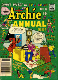 Cover Thumbnail for Archie Annual Digest (Archie, 1975 series) #32