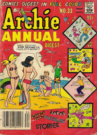 Cover Thumbnail for Archie Annual Digest (Archie, 1975 series) #33
