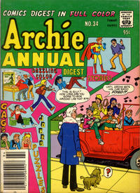 Cover Thumbnail for Archie Annual Digest (Archie, 1975 series) #34