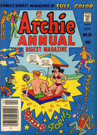 Cover Thumbnail for Archie Annual Digest (Archie, 1975 series) #35