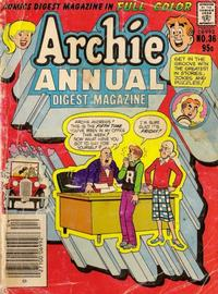 Cover Thumbnail for Archie Annual Digest (Archie, 1975 series) #36