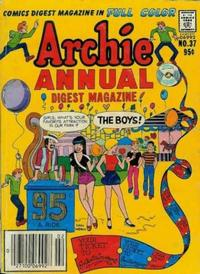 Cover Thumbnail for Archie Annual Digest (Archie, 1975 series) #37