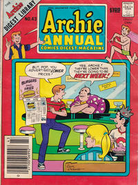 Cover Thumbnail for Archie Annual Digest (Archie, 1975 series) #43