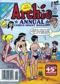 Cover Thumbnail for Archie Annual Digest (Archie, 1975 series) #51