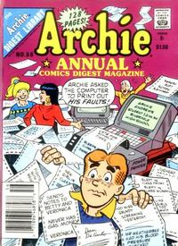 Cover Thumbnail for Archie Annual Digest (Archie, 1975 series) #56