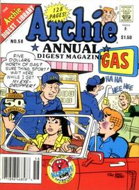 Cover Thumbnail for Archie Annual Digest (Archie, 1975 series) #58