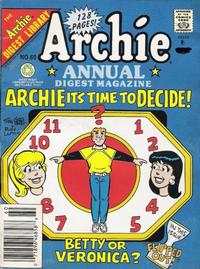 Cover Thumbnail for Archie Annual Digest (Archie, 1975 series) #60 [Newsstand]