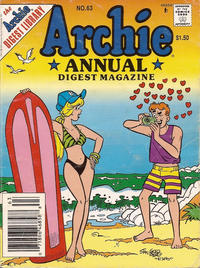 Cover Thumbnail for Archie Annual Digest (Archie, 1975 series) #63