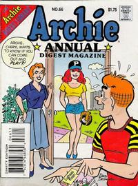 Cover Thumbnail for Archie Annual Digest (Archie, 1975 series) #66