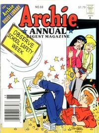 Cover Thumbnail for Archie Annual Digest (Archie, 1975 series) #68