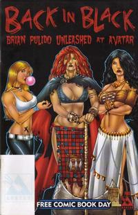 Cover Thumbnail for Back In Black: Brian Pulido Unleashed At Avatar (Avatar Press, 2004 series)