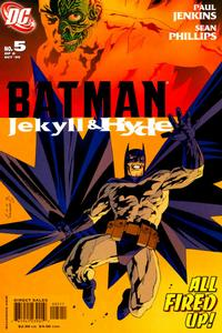 Cover Thumbnail for Batman: Jekyll & Hyde (DC, 2005 series) #5