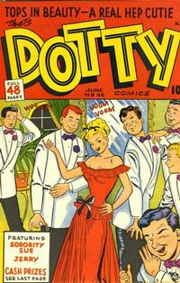 Cover Thumbnail for Dotty (Ace Magazines, 1948 series) #35