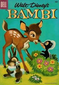 Cover Thumbnail for Walt Disney's Bambi (Dell, 1956 series) #3