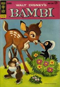 Cover Thumbnail for Walt Disney's Bambi (Western, 1963 series) #1