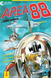 Cover Thumbnail for Area 88 (Eclipse; Viz, 1987 series) #1