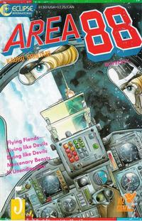 Cover Thumbnail for Area 88 (Eclipse; Viz, 1987 series) #5