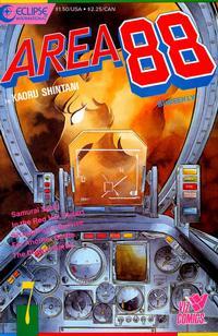 Cover Thumbnail for Area 88 (Eclipse; Viz, 1987 series) #7